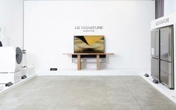 LG OLED-TV-Kunstinstallation (Bild: LG)