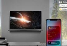 LG AirPlay HomeKit Firmware (Bild: LG)