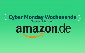Cyber Monday (Bild und Logo: Amazon)