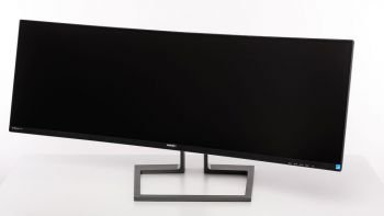 Ansicht Monitor mit Drehung nach links