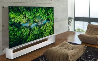 LG SIGNATURE OLED 8K Fernseher
