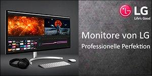 Monitore von LG: Professionelle Ferfektion (Bild: LG)