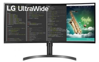 LG UltraWide 35WN75C (Bild: LG)