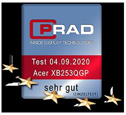 Testlogo Acer XB253QGP