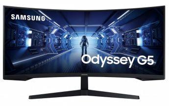 Samsung Odyssey C34G55T (Bild: Samsung)