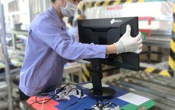 EIZO Monitor Produktion (Bild: EIZO)