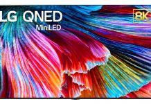 LG 8K-TV mit QNED (Bild: LG)