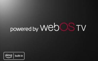Powered by webOS TV (Bild: LG)